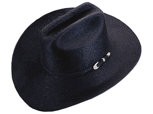 Teardrop Style Western Hat - Stratton Hats - Made in the USA