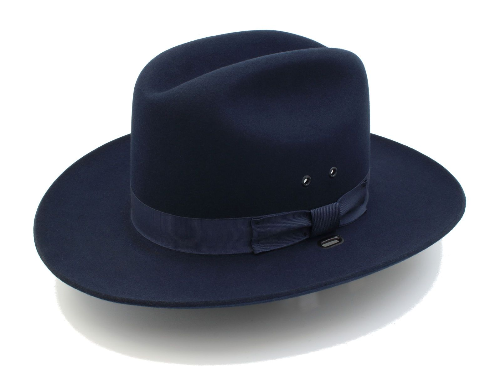 Stratton Hats Trooper Style Felt F38 in Navy Blue