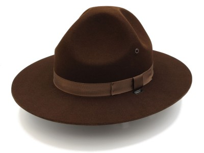 F40 Campaign Hat in Oklahoma Brown