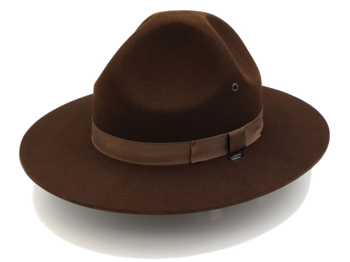 Campaign Hat in Oklahoma Brown