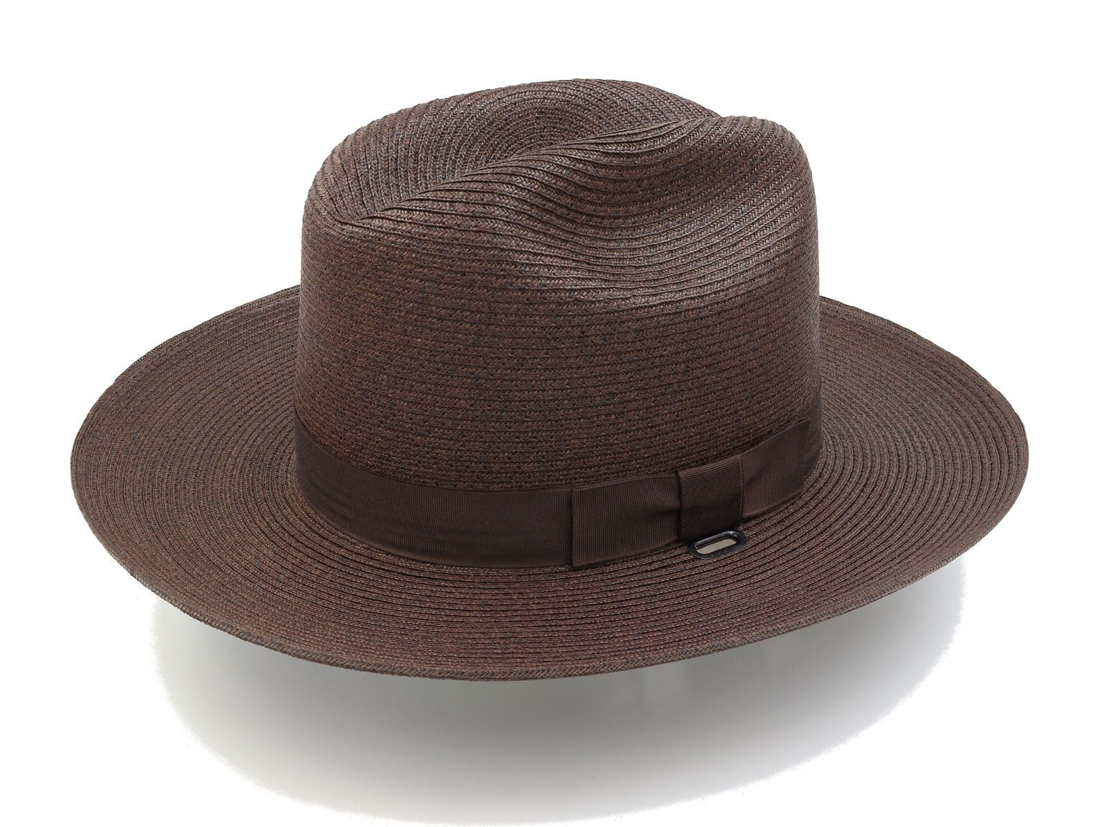 Stratton Hats Trooper Style Straw S38 in Brown