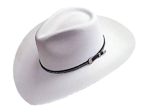 Teardrop Style Western Hat