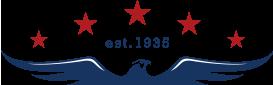 eagle and stars icon est. 1935